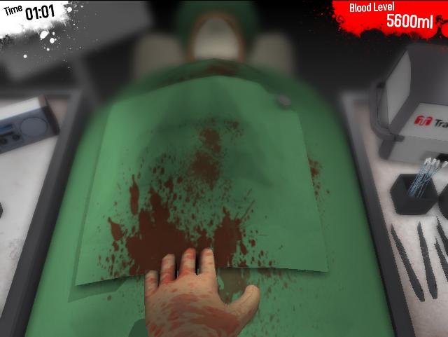 Surgeon Simulator – Gamejam version